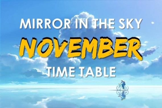November Time Table