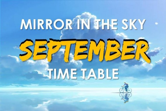 September Time Table